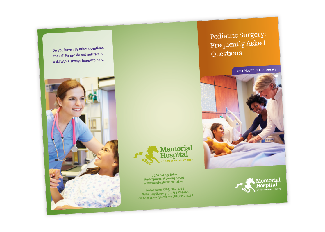 Memorial Hospital of Sweetwater County Brochure