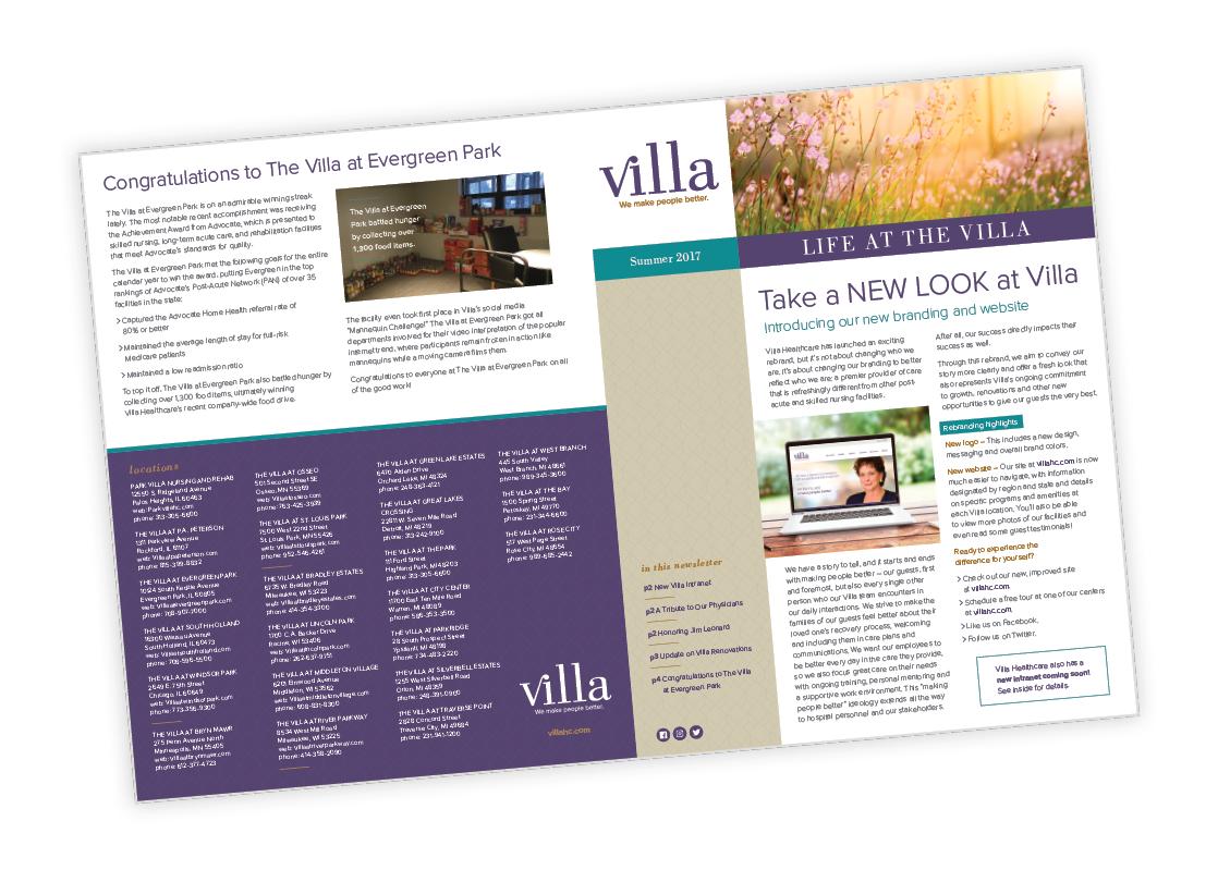 Villa Healthcare Publication