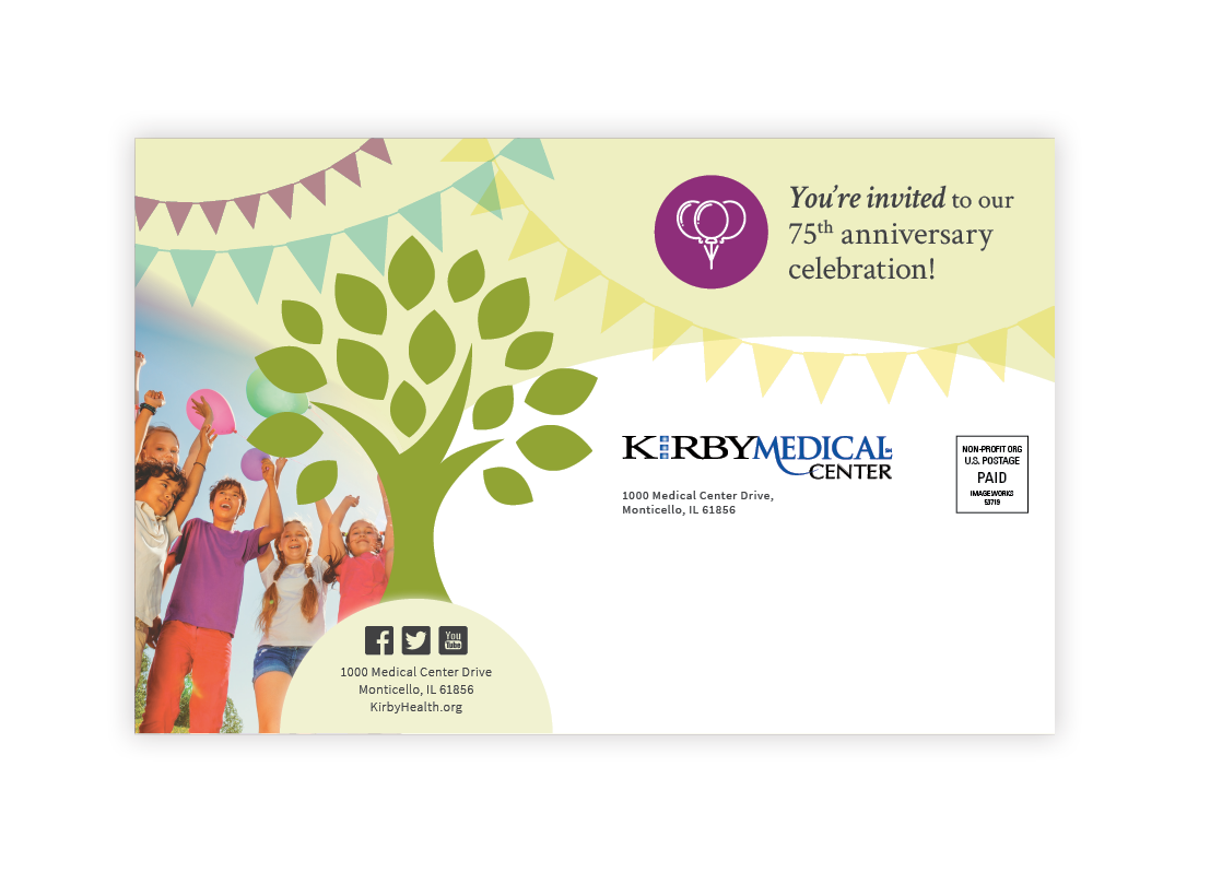 Kirby Medical Center Postcard